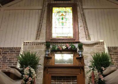 Chapel alter up