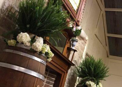 Chapel barrels and ceiling