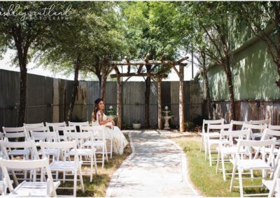 Reds Roadhouse wedding garden Dallas