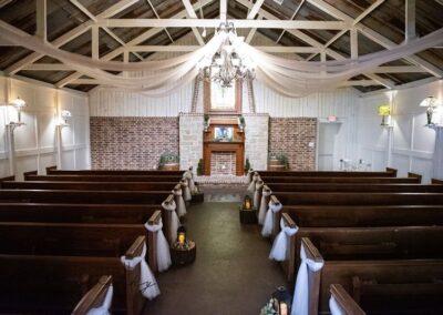 Reds Roadhouse big wedding venue chapel room