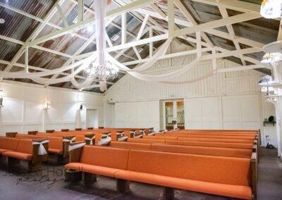 Reds Roadhouse chapel room wedding venue